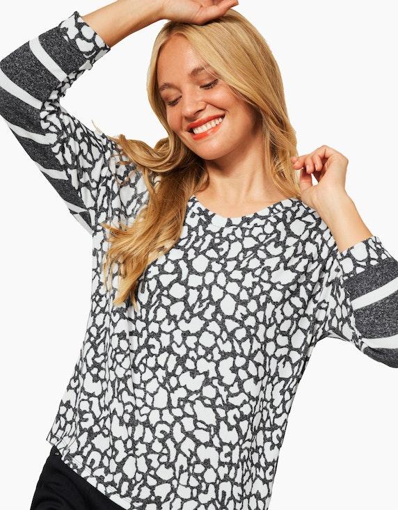 Street One Shirt mit Printmix | ADLER Mode Onlineshop