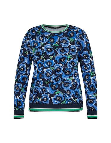 Produktbild zu Sweatshirt mit Blumen-Muster von MY OWN