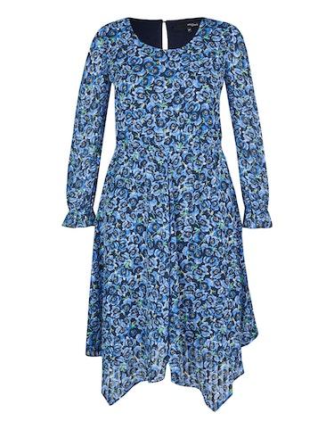 Produktbild zu Chiffon-Kleid mit floralem Druck von MY OWN