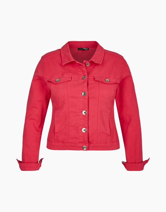 MY OWN Jeansjacke in Colour-Denim in Pink | ADLER Mode Onlineshop