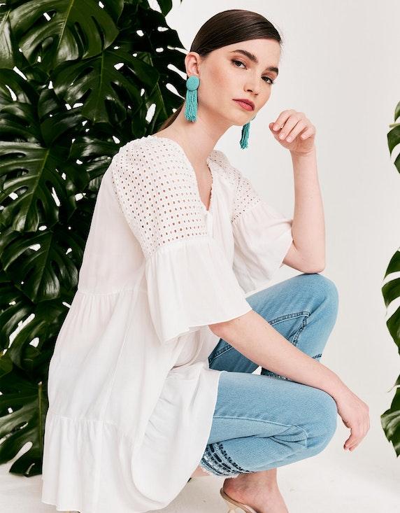 Viventy Carmen-Bluse mit Lochstickerei | ADLER Mode Onlineshop