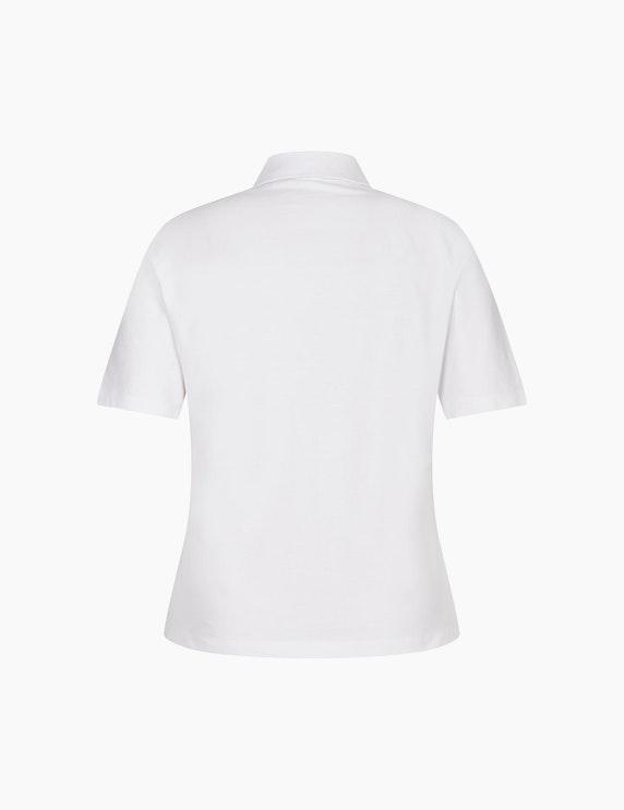 Rabe Poloshirt mit Stickereien | ADLER Mode Onlineshop