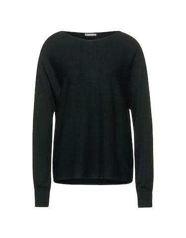 Produktbild zu Feinstrick-Pullover mit Fledermausärmeln von Street One