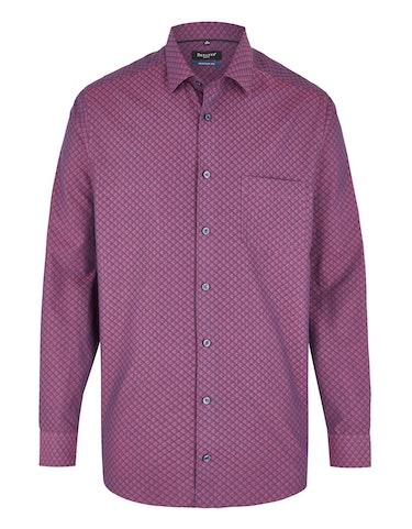 Produktbild zu <strong>Freizeithemd mit Jacquard-Muster</strong>REGULAR FIT von Bexleys man