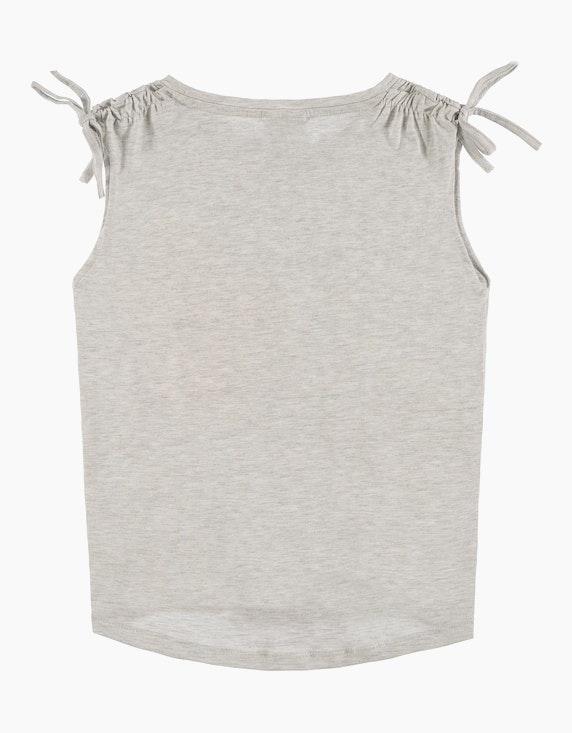 Tom Tailor Girls ärmelloses Shirt mit Frontprint | ADLER Mode Onlineshop