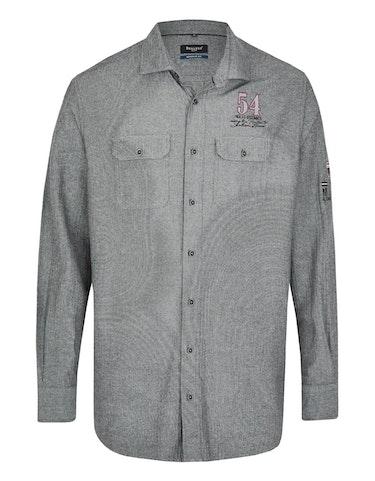 Produktbild zu <strong>Fischgrat-Hemd mit zwei Brusttaschen</strong>REGULAR FIT von Bexleys man