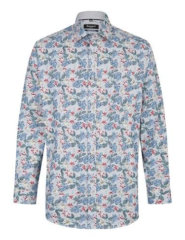 Produktbild zu <strong>Freizeithemd mit angesagtem Floralprint</strong>REGULAR FIT von Bexleys man