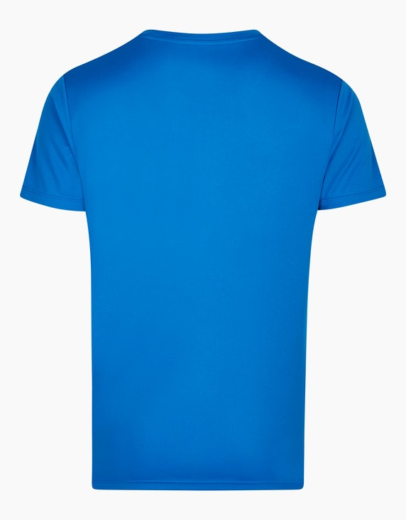 Fit&More Trainings-T-Shirt mit seitlichem Print | ADLER Mode Onlineshop