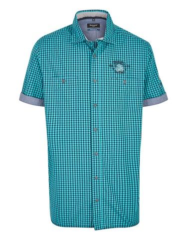 Produktbild zu <strong>Kleinkariertes Freizeithemd mit Stickerei</strong>REGULAR FIT von Bexleys man