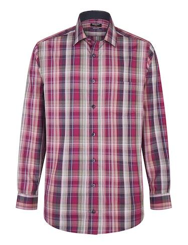 Produktbild zu <strong>Kariertes Freizeithemd in bügelfreier Qualität</strong>REGULAR FIT von Bexleys man