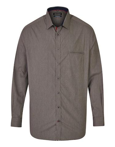 Produktbild zu <strong>Fein gestreiftes Freizeithemd mit Paspel-Brusttasche</strong>REGULAR FIT von Bernd Berger