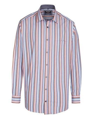Produktbild zu <strong>Gestreiftes Freizeithemd in bügelfreier Qualität</strong>REGULAR FIT von Bexleys man