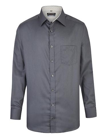 Produktbild zu <strong>Dresshemd mit modernem Ausputzkragen</strong>REGULAR FIT von Bernd Berger