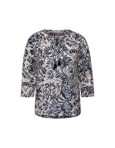 Produktbild zu Bluse im Tunika-Style mit Allover-Muster von CECIL