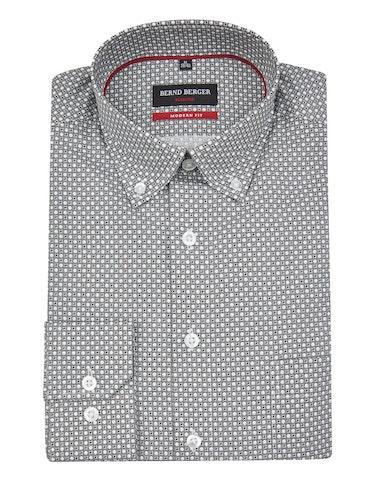 Produktbild zu <strong>Dresshemd mit Punkteprint</strong>MODERN FIT von Bernd Berger