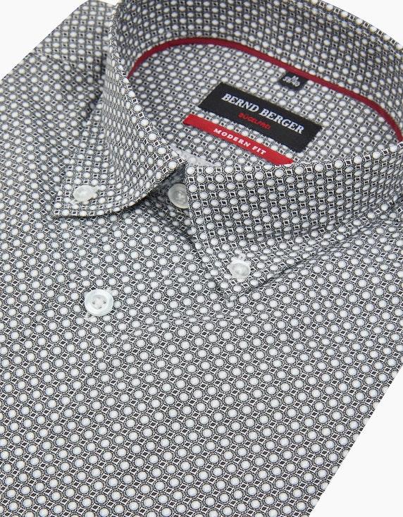 Bernd Berger Dresshemd mit Punkteprint, MODERN FIT | ADLER Mode Onlineshop