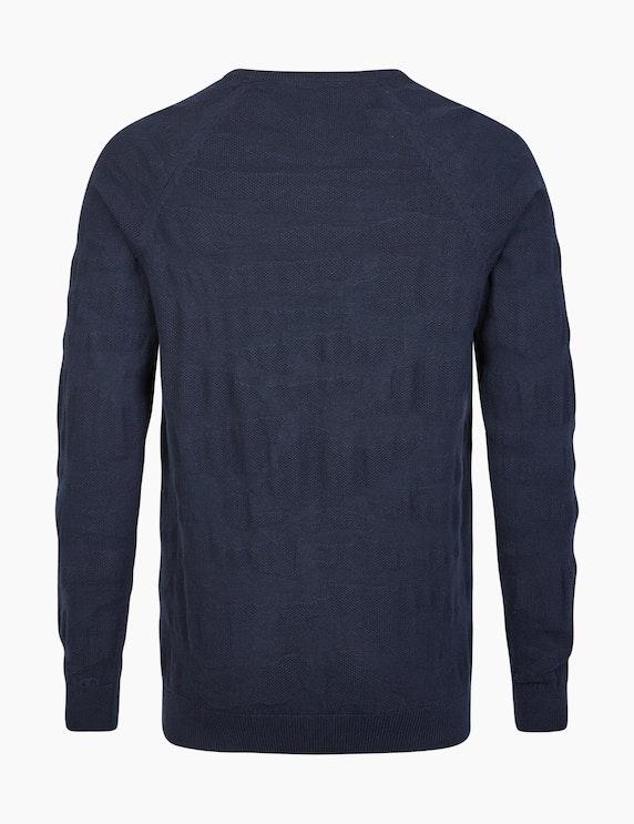 Eagle No. 7 Moderner Jacquard-Pullover | ADLER Mode Onlineshop