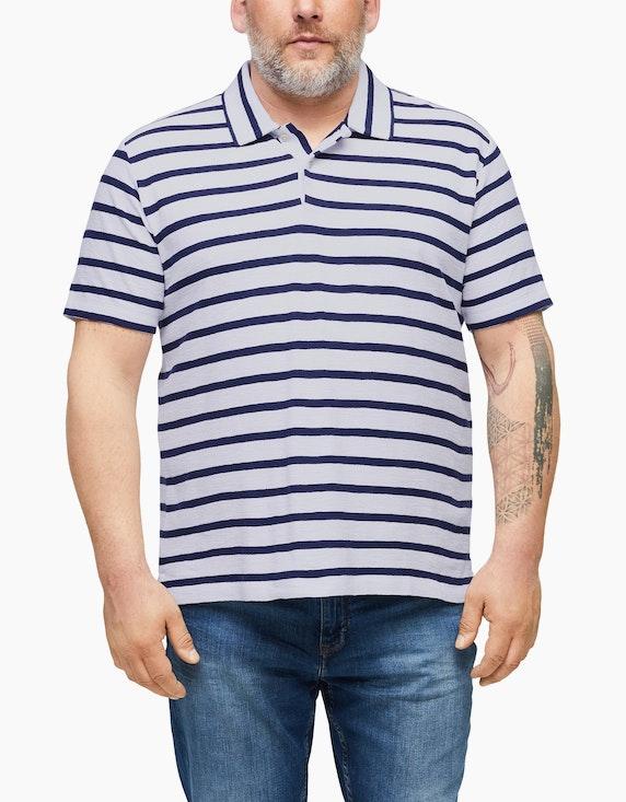 s.Oliver Poloshirt mit Streifenmuster | ADLER Mode Onlineshop