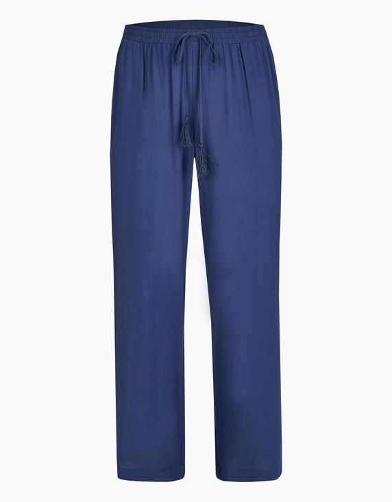 Thea Palazzo-Hose in Marine | ADLER Mode Onlineshop