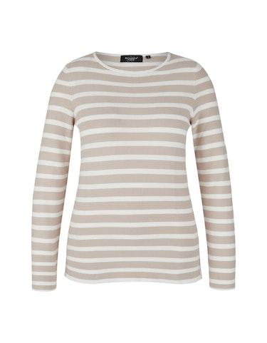 Produktbild zu Baumwoll-Pullover im Streifen-Look von Bexleys woman