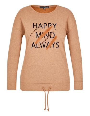 Produktbild zu Sweatshirt mit Samtprint im Safari-Style von MY OWN