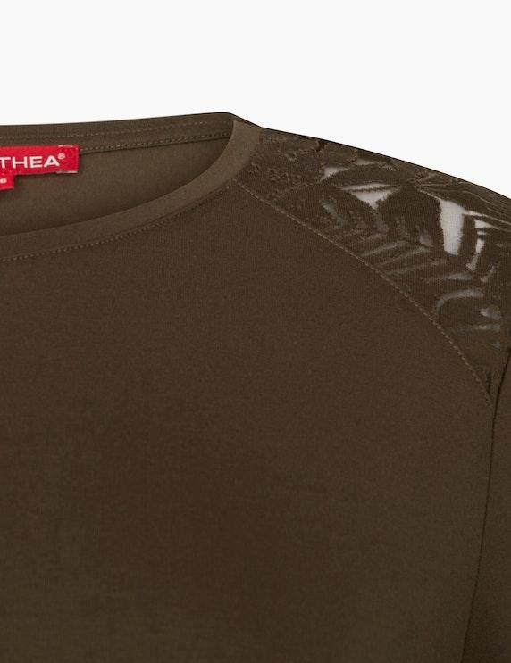 Thea Langarmshirt mit Bourn-Out Details | ADLER Mode Onlineshop