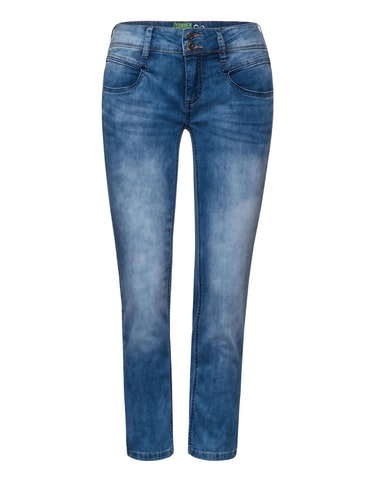 Produktbild zu <strong>Denim-Jeanshose</strong>Casual Fit, Style Jane von Street One