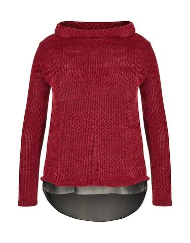 Produktbild zu <strong>Boucle-Pullover mit Rollkragen</strong>2-in-1-Optik von MY OWN