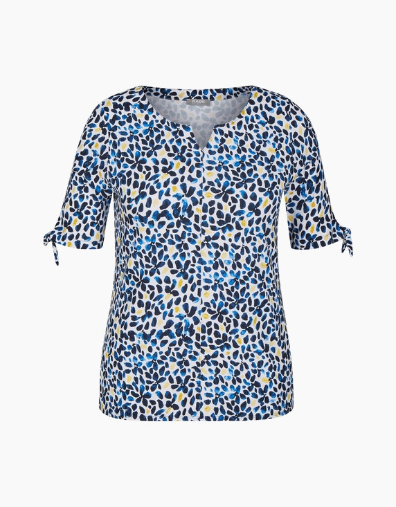 Rabe Shirt mit getupftem Allover-Muster   ADLER Mode Onlineshop