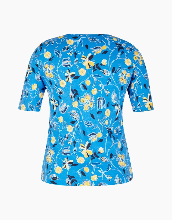 Rabe Baumwoll-Shirt mit floralem Druck   ADLER Mode Onlineshop