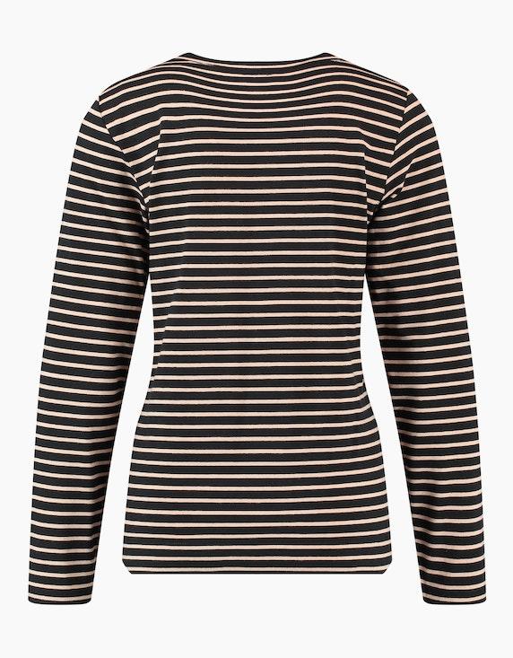 Gerry Weber Collection Geringeltes 3/4 Arm Shirt | ADLER Mode Onlineshop