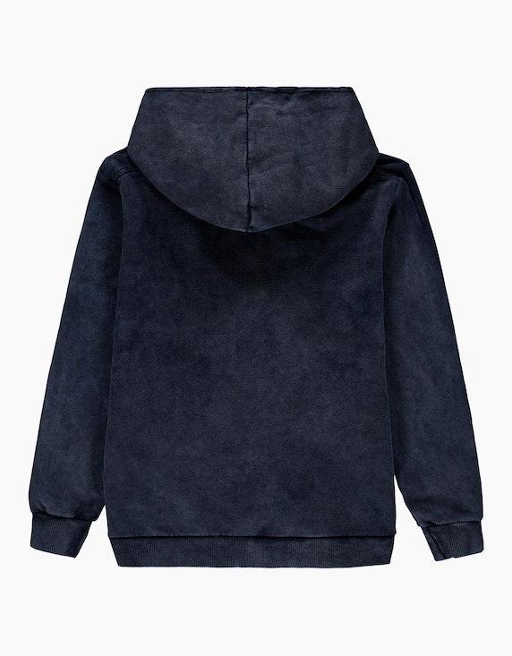 Esprit Boys Zipper-Hoodie im Washed-Look   ADLER Mode Onlineshop
