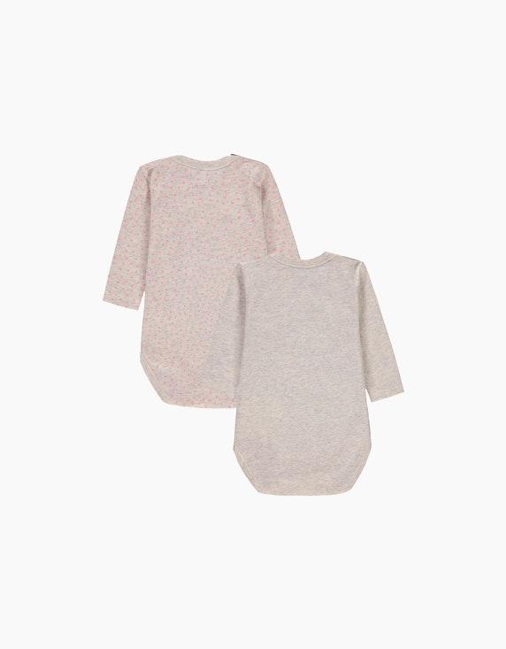 Esprit Baby Girls Langarmbody aus Organic Cotton im 2er-Pack | ADLER Mode Onlineshop