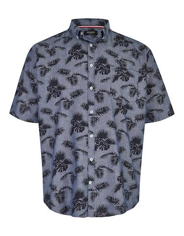 Produktbild zu Hemd mit Blätterdruck von Big Fashion