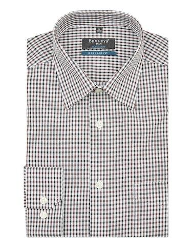 Produktbild zu <strong>Dresshemd mit Karomuster</strong>REGULAR FIT von Bexleys man