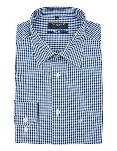 Produktbild zu <strong>Dresshemd im klassischen Vichy-Karo</strong>REGULAR FIT von Bexleys man