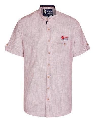 Produktbild zu <strong>Gestreiftes Hemd mit Stehkragen</strong>MODERN FIT von Bexleys man