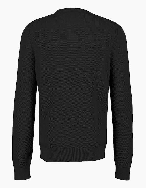 Lerros Basic-Strickpullover aus reiner Baumwolle | ADLER Mode Onlineshop