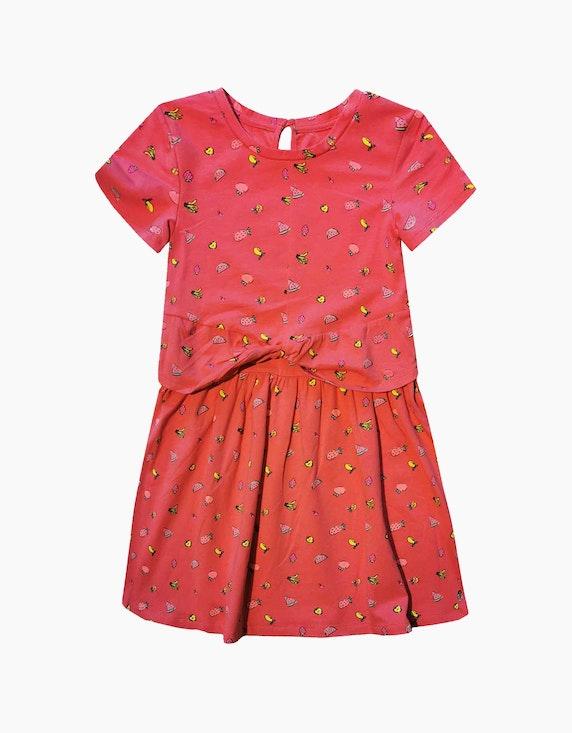 Tom Tailor Mini Girls Kleid mit Druck | ADLER Mode Onlineshop