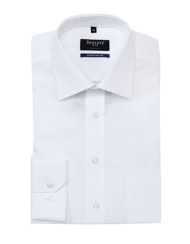 Produktbild zu <strong>Klassisches Dresshemd unifarben</strong>REGULAR FIT von Bexleys man