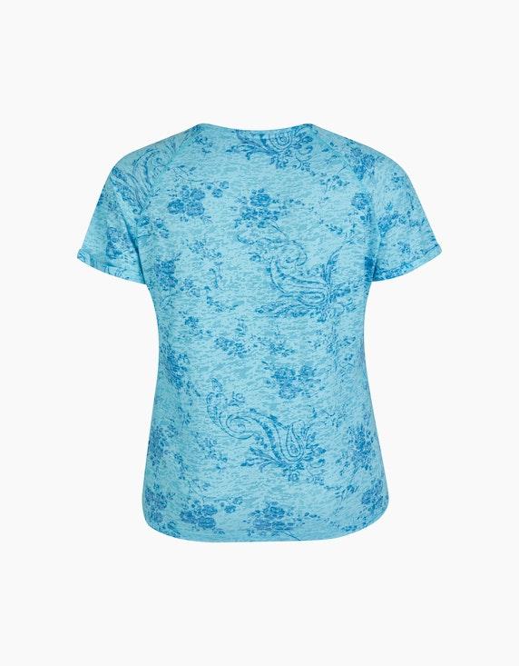 No Secret Ausbrenner-Shirt mit Allovermuster | ADLER Mode Onlineshop