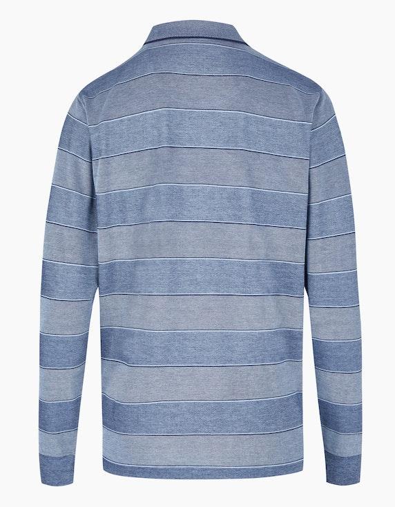 Bexleys man Gestreiftes Poloshirt in Twotone | ADLER Mode Onlineshop