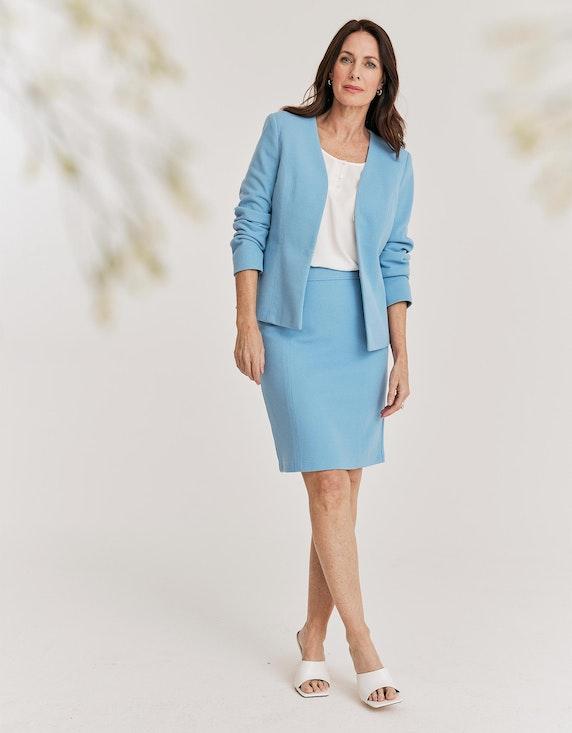 Bexleys woman Chiffon-Shirt in Weiß | ADLER Mode Onlineshop
