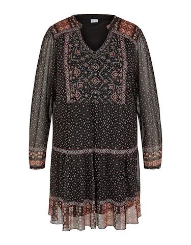 Produktbild zu Lange Tunika-Bluse in Mesh-Qualität von Thea
