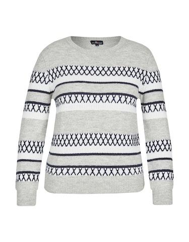 Produktbild zu Pullover im Norweger-Style von Via Cortesa