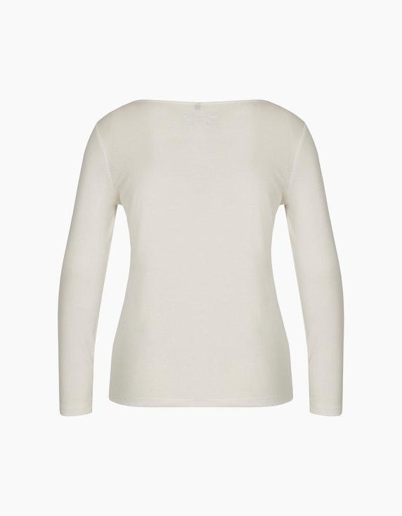 Bexleys woman Basic Langarmshirt aus reiner Baumwolle | ADLER Mode Onlineshop