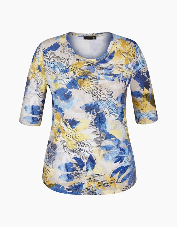 Rabe Shirt mit geblümten Muster   ADLER Mode Onlineshop
