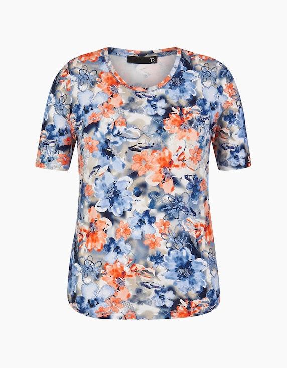 Rabe Shirt mit floralem Allover-Druck   ADLER Mode Onlineshop