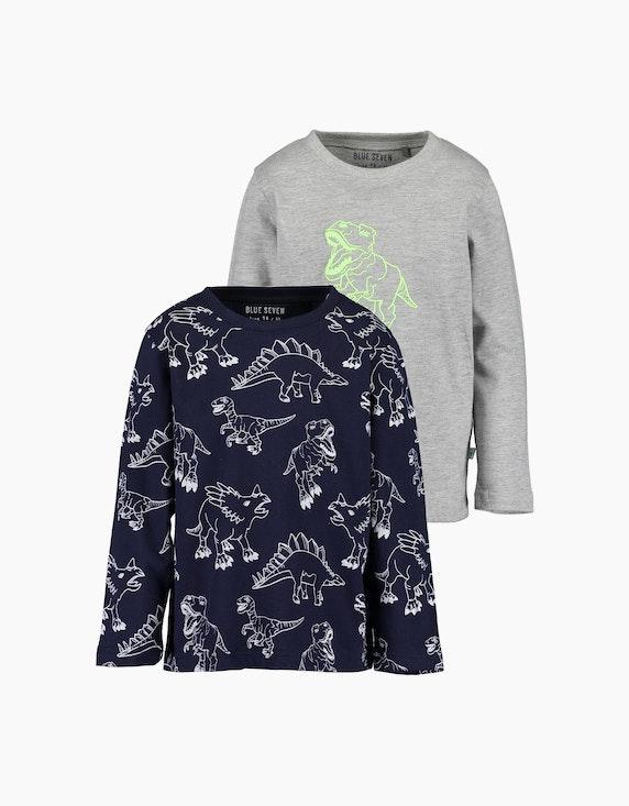 Blue Seven Mini Boys Langarmshirt im 2er-Pack | ADLER Mode Onlineshop