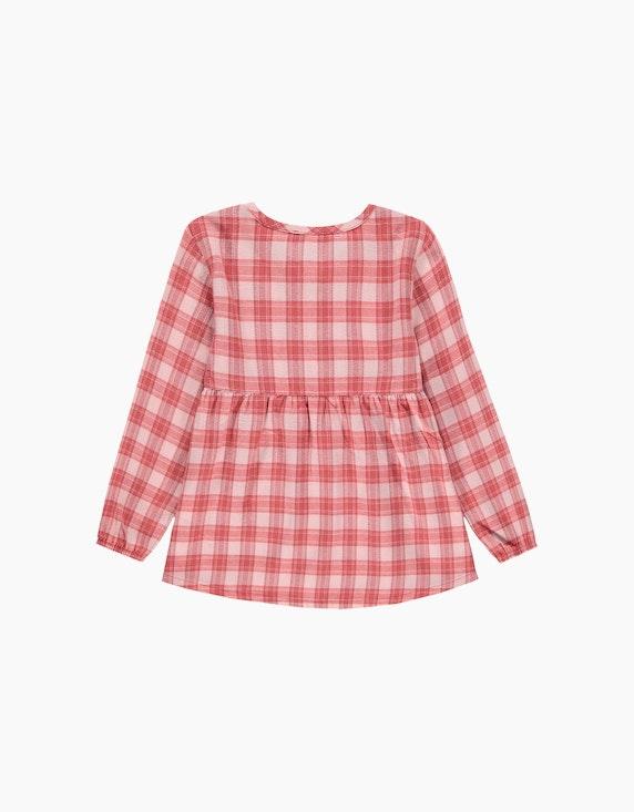 Esprit Mini Girls Tunika mit Karomuster | ADLER Mode Onlineshop